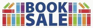 Book Sale Clip Art - Text Surrounded by Books